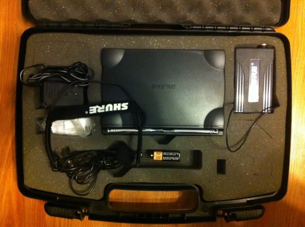 SHURE T4N Headset Mic and Receiver - $200 (Southwest Houston)