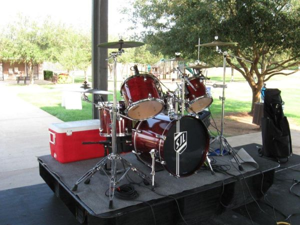 Drum Kit English-made Premier XPK Birch - $500 (West Houston)