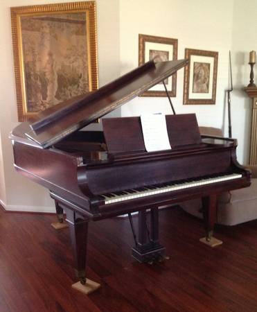 1928 Mason Hamlin Model A Grand Piano with Tension Resonator - $17000 (League City, Galveston County)