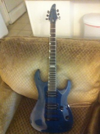 LTD H201 guitar and SDGR sr305 bass - $500 (Tomball)