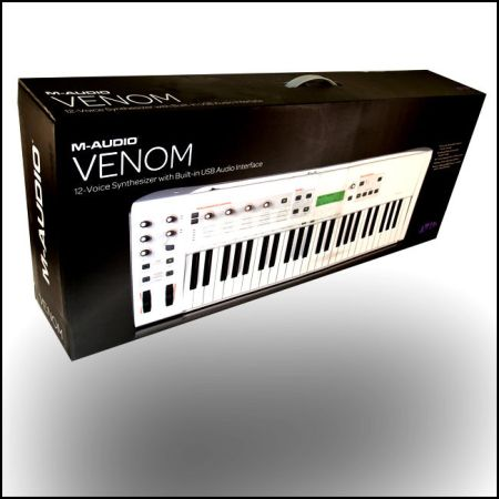 M-AUDIO VENOM SYNTHESIZER - NIB - $300 (KATY)