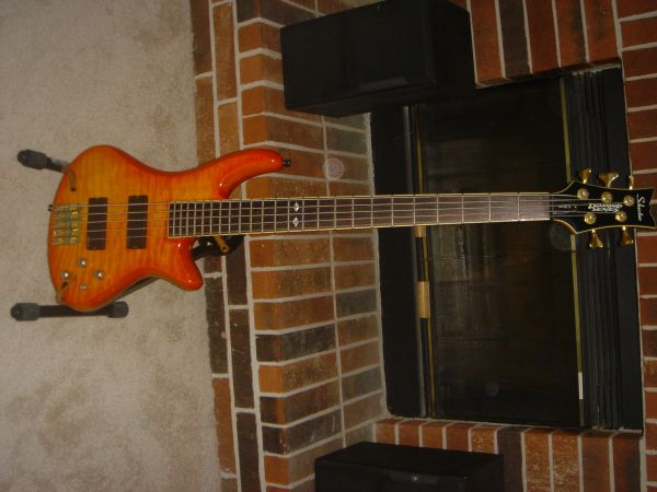 Schecter Elite 5 Diamond series 5 string bass - $240 (NW of Houston)