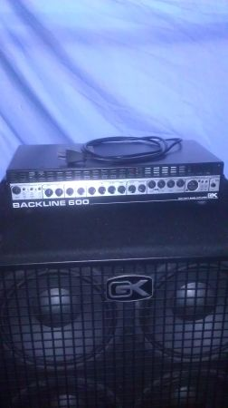 Gallien-Krueger Backline 600 Bass Head - $200 (Houston)