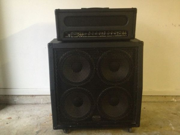 Peavey Supreme 100 Half Stack - $325 (Cypress - NW Houston)