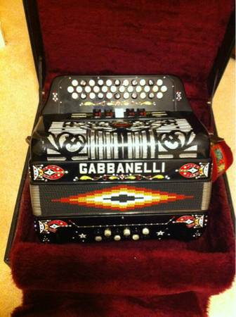 Gabbanelli Accordion - $2300 (Pasadena)