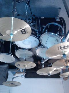 Tama Drum set with everything you see. - $1000 (Huffman)