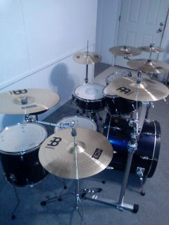 TAMA imperialstar Drum set with rack and cymbals - $1500 (New Caney)