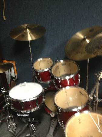Yamaha Stage Custom n Complete Cymbal Pack New Condition - $950 (Houston)