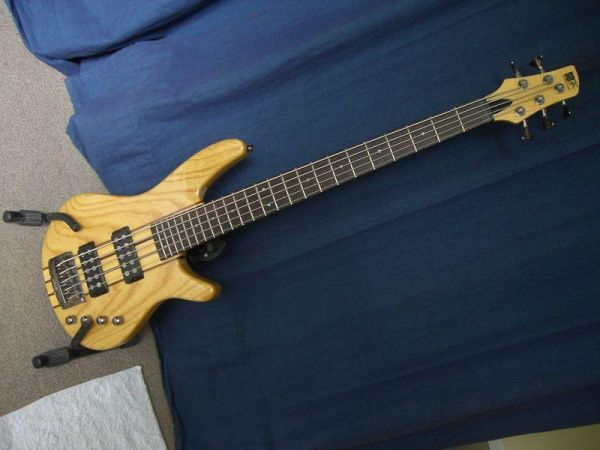 5 string bass ibanez sdgr SRX705 - $450 (downtown houston)