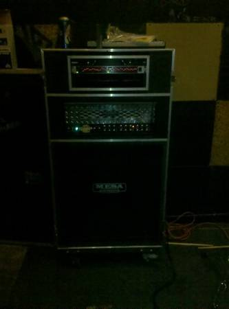 Mesa dual rectifier with road case - $2000