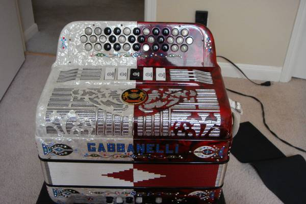 Gabbanelli Accordion EAD $2800 OBO - $2800 (Austin, Tx)