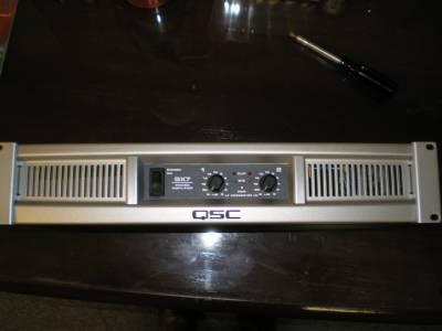 QSC GX7 Power Amp - $350 (Tomball)