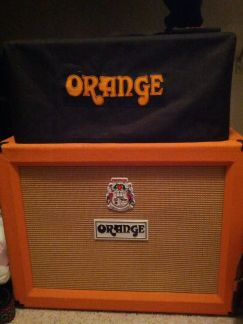 Orange Rocker 30 with matching 2x12 cab - $1400 (Inner loop)