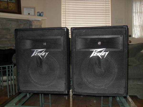 PEAVEY SPEAKERS - $350 (HOUSTON)