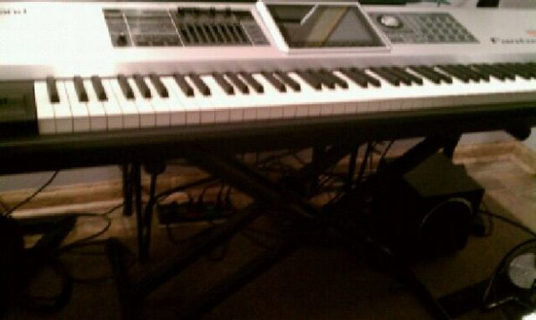 Complete Set Up Roland Fantom G8 Workstation With Monitors and Stands - $3500 (Houston Katy Tx at I10 West Fry Rd)