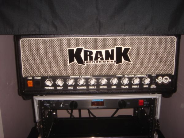 Krank 1980 Amplifier and Cabinet - $850 (NW Houston)