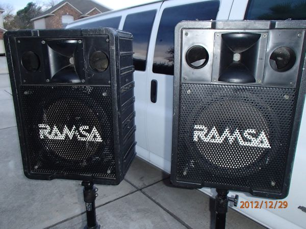 RAMSA PA Speakers w small Subs - $125 (League City)