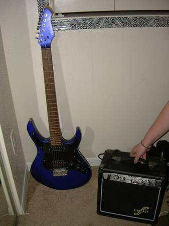 Hohner Electric Guitar and First Act Amp - $70 (NW)