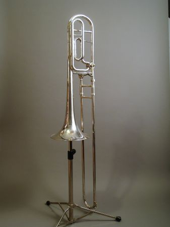 Benge 165F Professional Tenor Trombone - Silver Plate w Hard Case - $800 (Houston, TX)