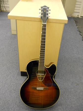 GRETSCH G3700 HISTORIC SERIES ACOUSTIC ELECTRIC GUITAR - $380 (I-45HEIGHTS 713-426-2274)