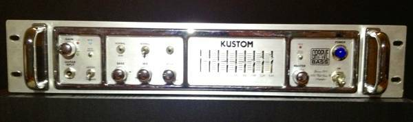 Kustom Bass Head (FREE Road Case and Cables) - $450 (Spring)