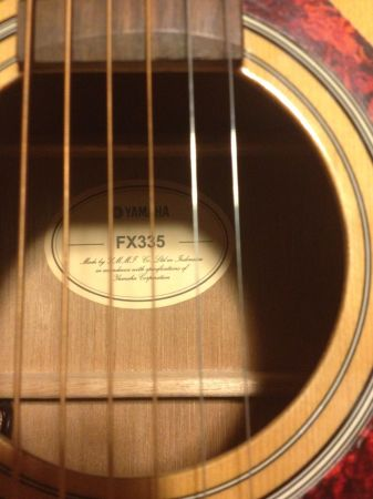 Yamaha Guitar AND Case HARDLY USED - $250 (Inner Loop)