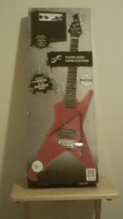 First Act Electric Guitar with Amp (NIB) - $100 (West Houston)