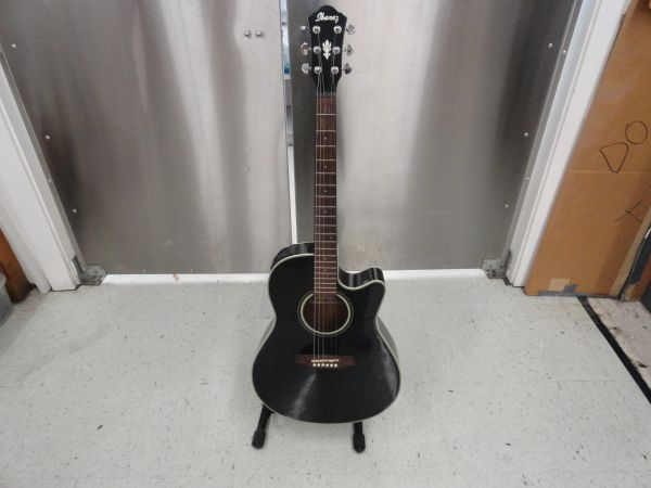 Ibanez Acoustic Electric-Black - $200 (59N and E.Mnt)