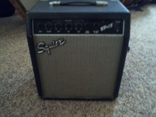 Ibanez RG120 and 15 Watt Squier Practice Amp - $150 (Livingston)