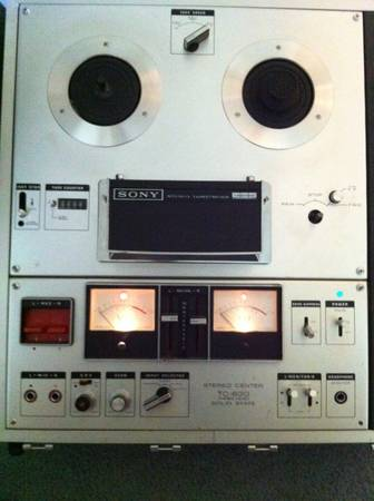 sony tc-630 reel to reel (as is) - $40 (katy)