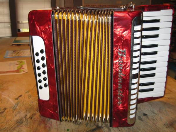 German made Bandmaster Student Accordion - $150 (North Houston)