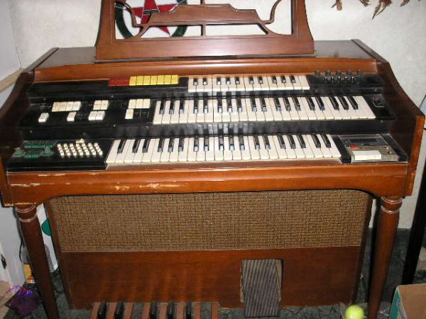 Wurlitzer Orbit II Synthesizer Organ (Houston)