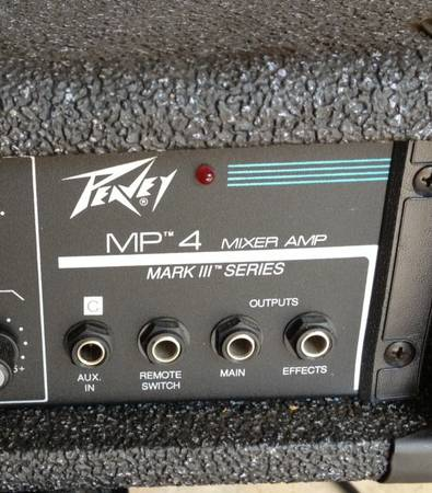Peavey MP4 Mixer Amp - $150 (Houston)