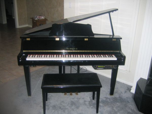 Yamaha Petite Baby Grand Disklavier Grand Touch Model DGT2A - $1 (FRIENDSWOOD, TEXAS)