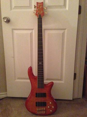 Schecter Diamond Series Elite Bass-5 String - $300 (Katy)