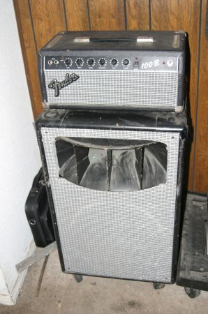 FENDER 100B GUITAR BASS AMP  - $180 (SWH)