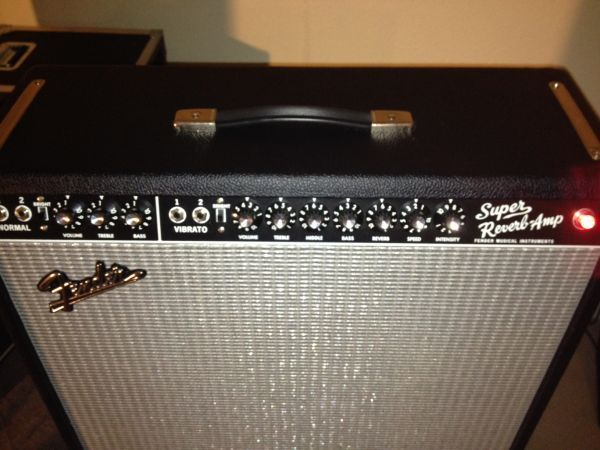 MINT Fender Super Reverb 65 Reissue Guitar Amp w Bill Webb Mods - $1195 (Houston)