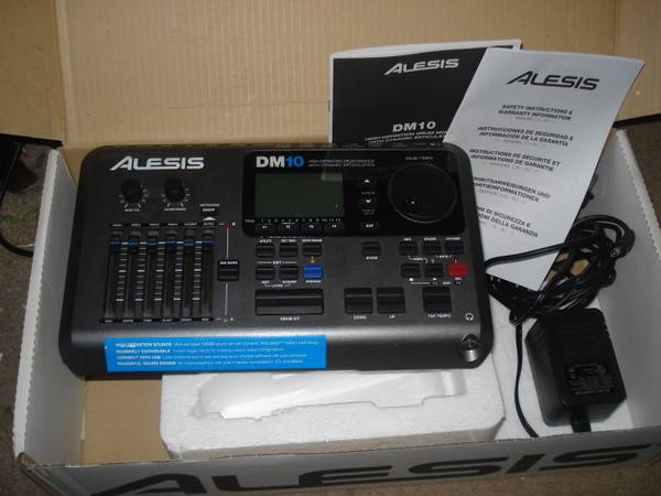 Alesis DM10 Module with power cable and mounting kit - $500 (Katy)