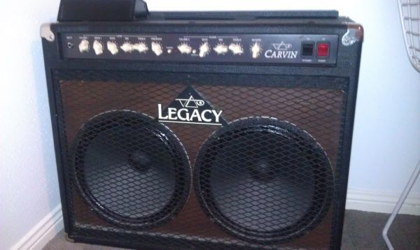 Carvin Vai Legacy 100w 2x12 Combo Amp - $600 (Friendswood)