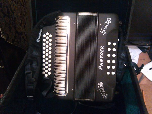 Hohner Panther Accordion $550(OBO) - $550