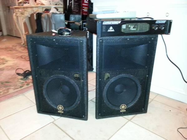 trade yamaha 12 concert speakers - $500 (waller tx)