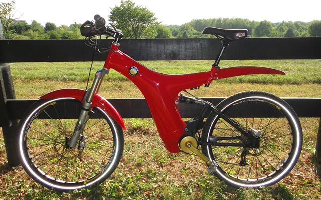 2008 Optibike 800 Li High Performance Electric Bicycle