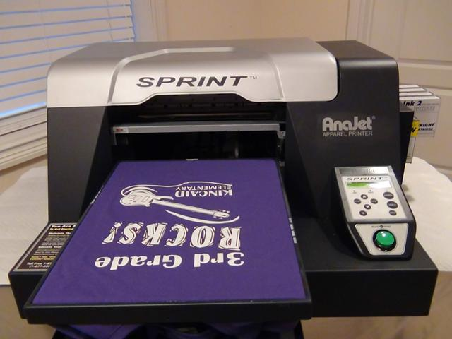 Anajet Sprint Model SP-200 printer - $2700