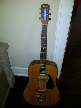 Fender Squire DG-60 Acoustic Guitar - x002425 (Heights)