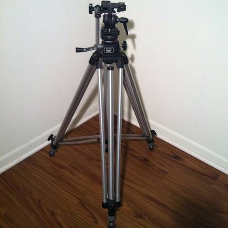 Professional Bogen Camera Tripod - $125 (Conroe Will Deliver)
