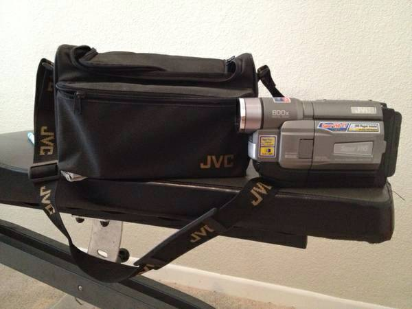 JVC GR-SXM340 Camcorder- Metallic Gray Super VHSDigital Video Camera8207 - $125 (Tomball)