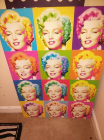 MARILYN MONROE PICTURE FRAMES