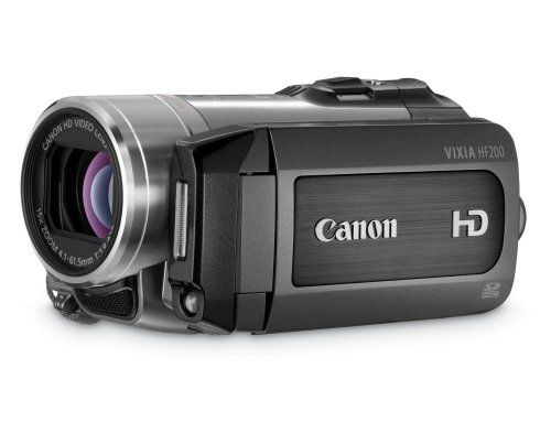 Canon VIXIA HF200 HD Flash Memory Camcorder  - $250 (Washington  TC Jester)