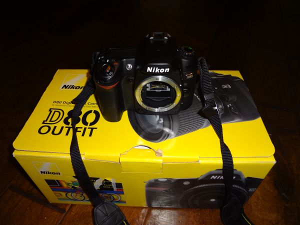 Nikon D80 Camera Body (Like New) - $350 (Pearland)