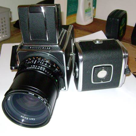 Hasselblad 500CM w Carl Zeiss Distagon Lens - $400 (Heights)